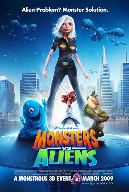 Monstros Vs Alienigenas DVDRip RMVB Dublado -Telona - Filmes rmvb pra baixar grátis